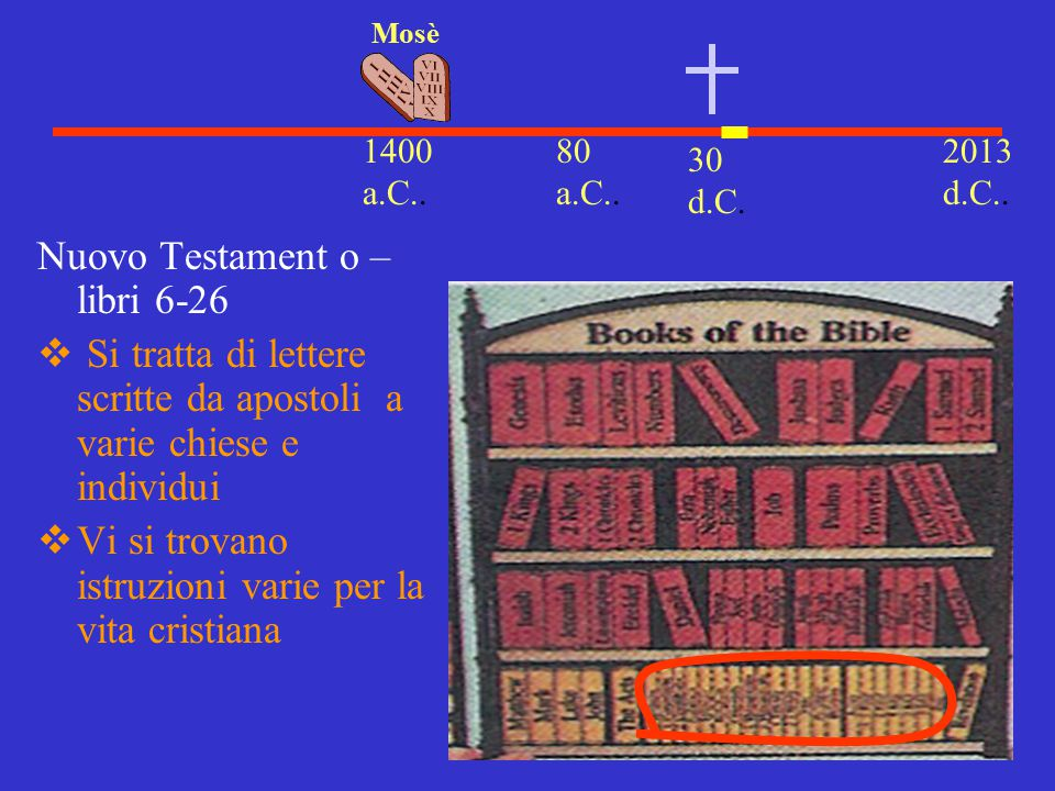 Nuovo Testament o – libri 6-26