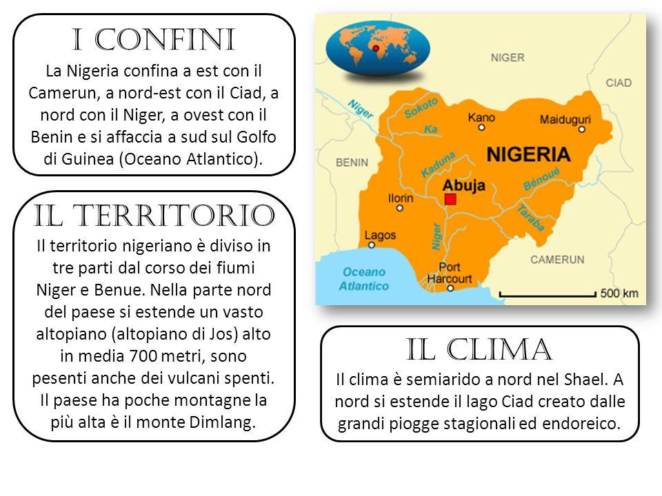 I confini Il territorio il clima