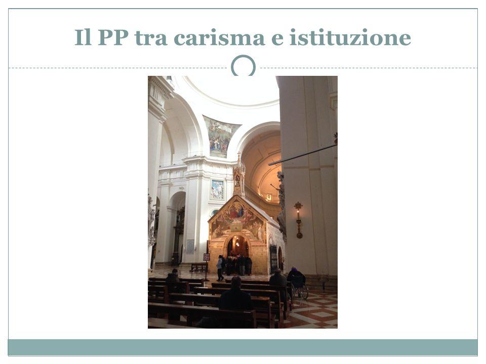 Il PP tra carisma e istituzione