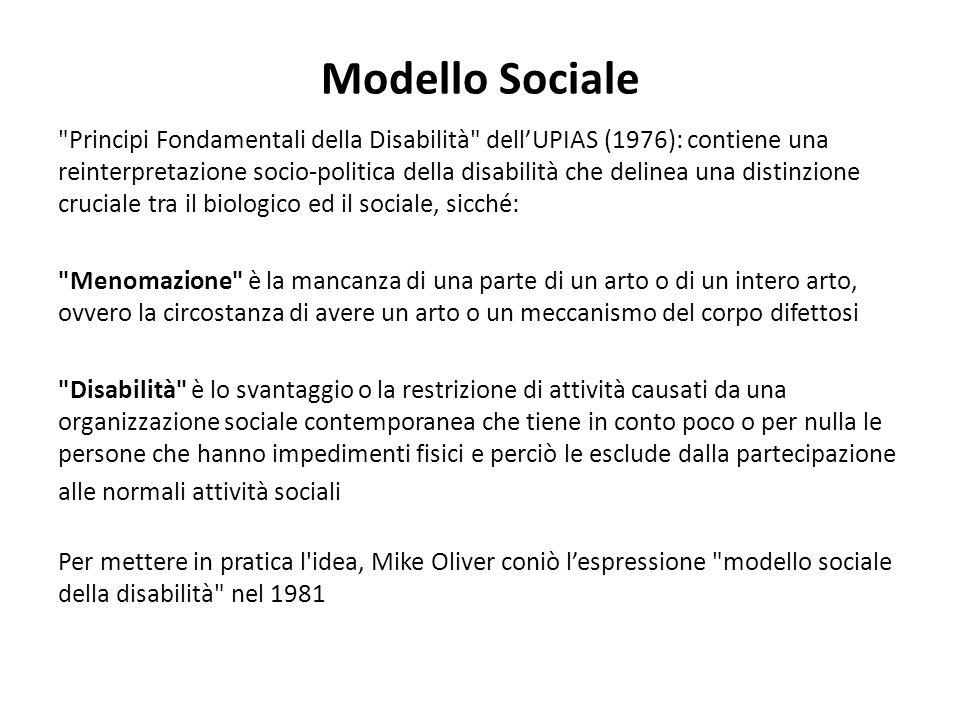 Modello Sociale