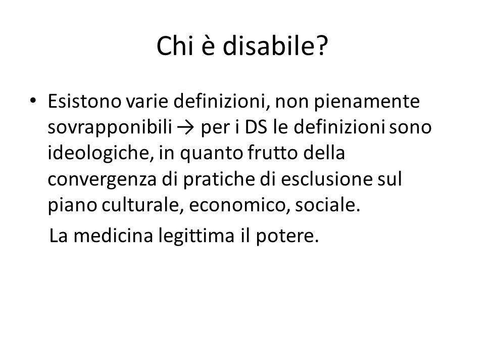Chi è disabile