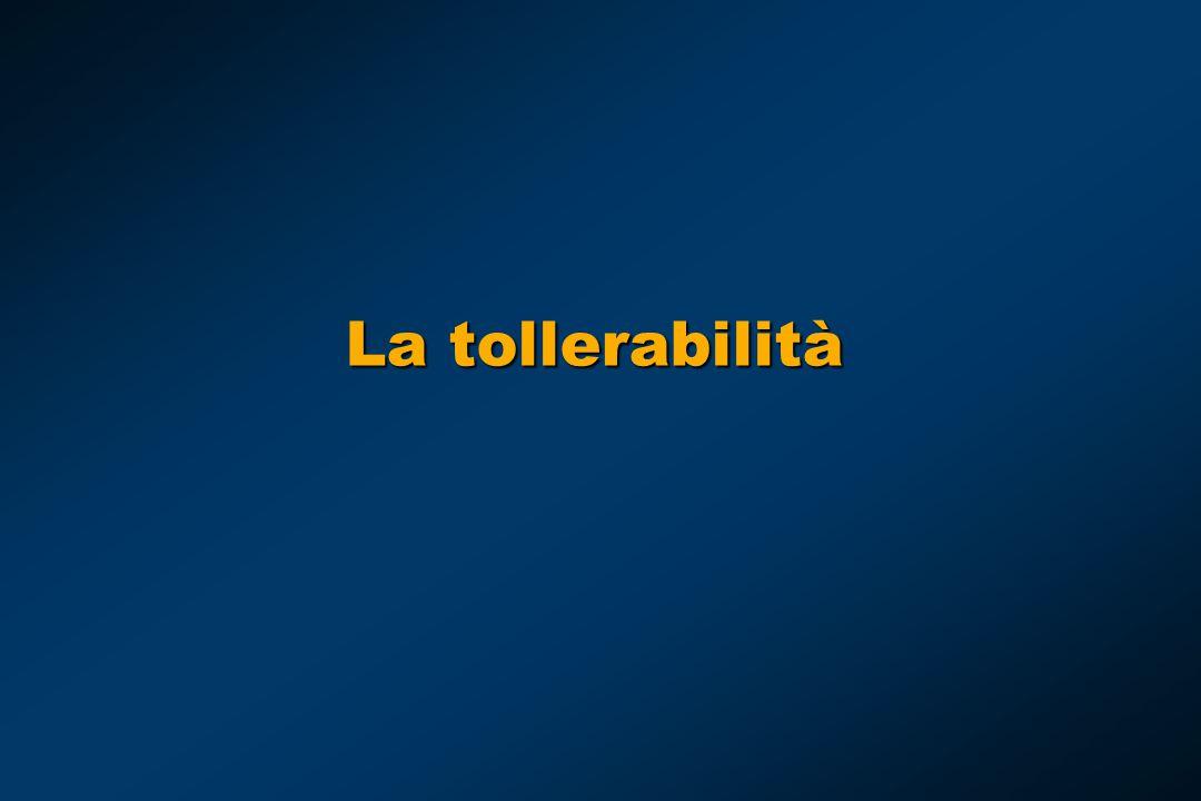 La tollerabilità E la tossicità di questi farmaci