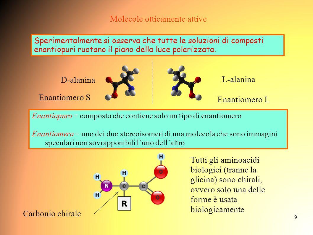 Molecole otticamente attive