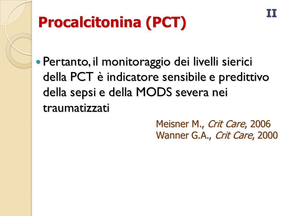 II Procalcitonina (PCT)