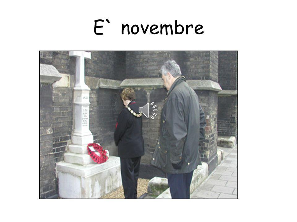 E` novembre