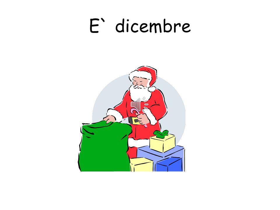 E` dicembre