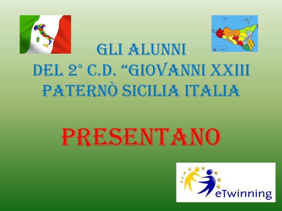 Gli alunni del 2° C.D. Giovanni XXIII Paternò Sicilia Italia