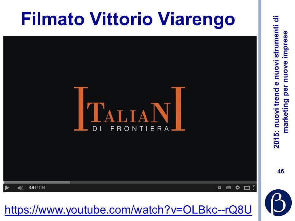 Filmato Vittorio Viarengo