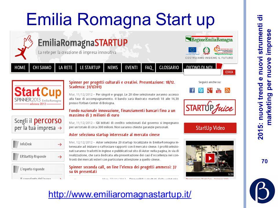 Emilia Romagna Start up