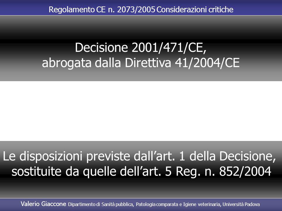 abrogata dalla Direttiva 41/2004/CE