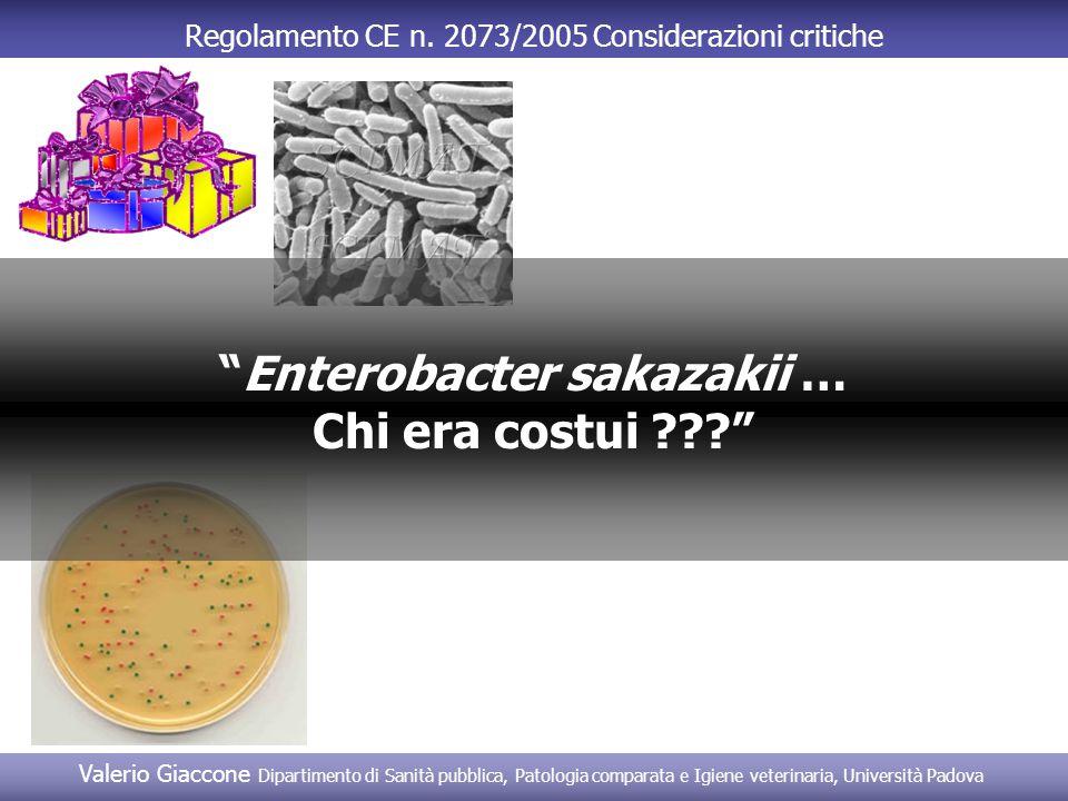 Enterobacter sakazakii …