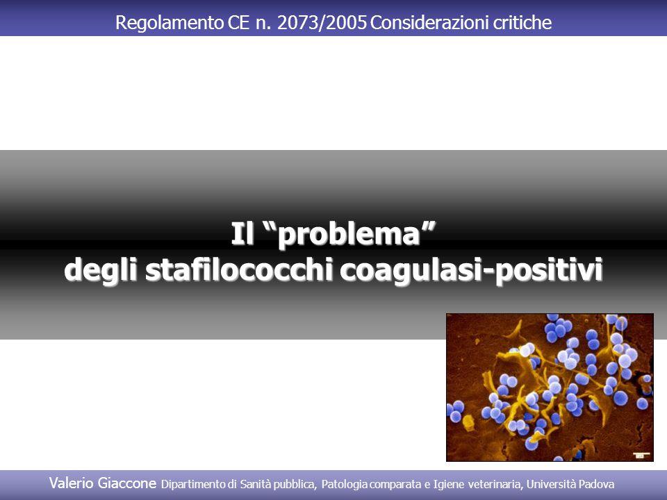 degli stafilococchi coagulasi-positivi
