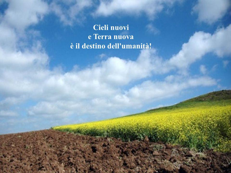Cieli nuovi e Terra nuova è il destino dell umanità!