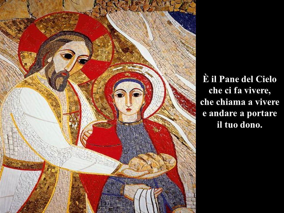 È il Pane del Cielo che ci fa vivere, che chiama a vivere