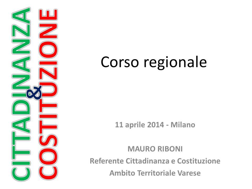 Referente Cittadinanza e Costituzione Ambito Territoriale Varese