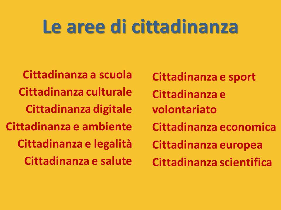 Le aree di cittadinanza