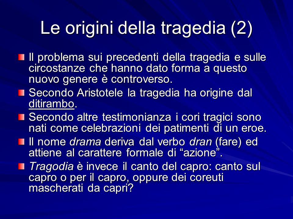 Le origini della tragedia (2)