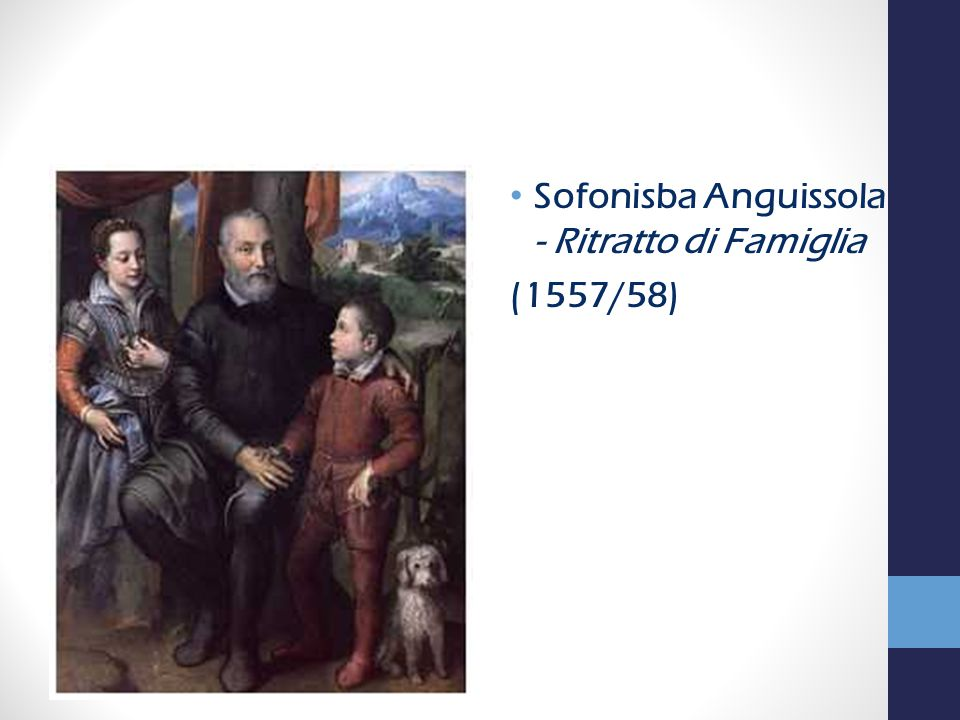 Sofonisba Anguissola - Ritratto di Famiglia