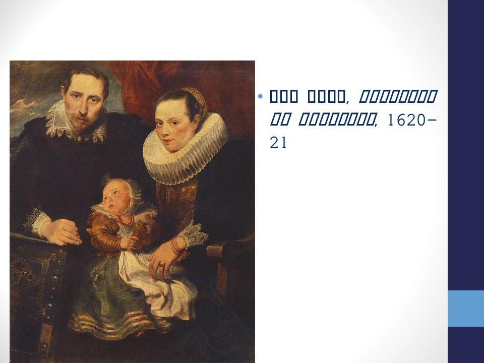 Van Dyck, Ritratto di Famiglia, 1620-21