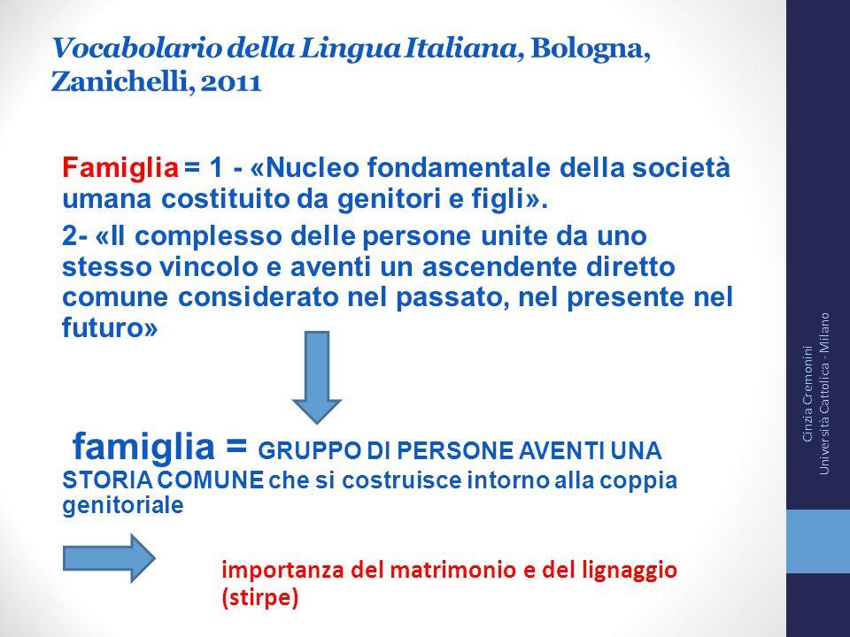 Vocabolario della Lingua Italiana, Bologna, Zanichelli, 2011