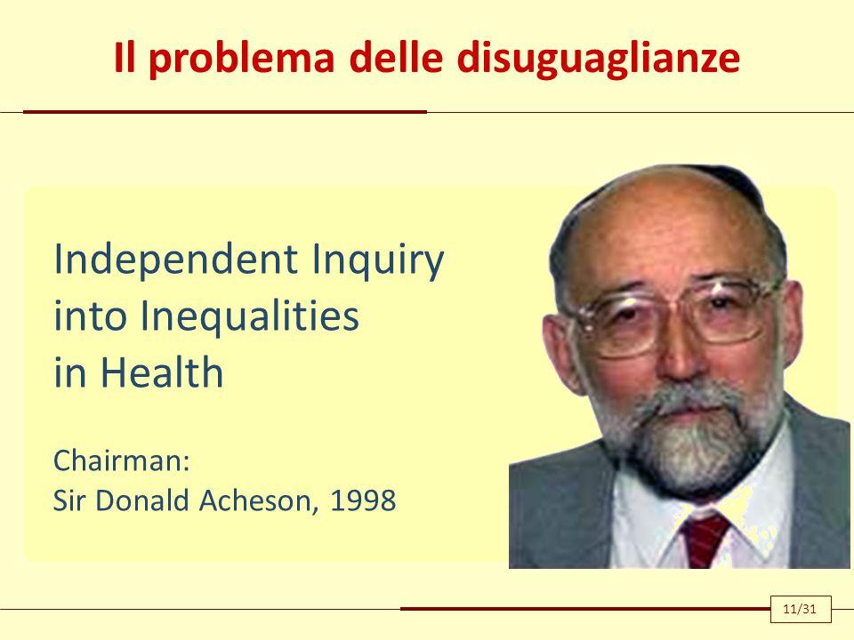 Il problema delle disuguaglianze