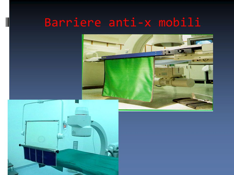 Barriere anti-x mobili