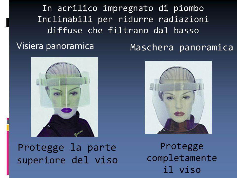 Protegge la parte superiore del viso