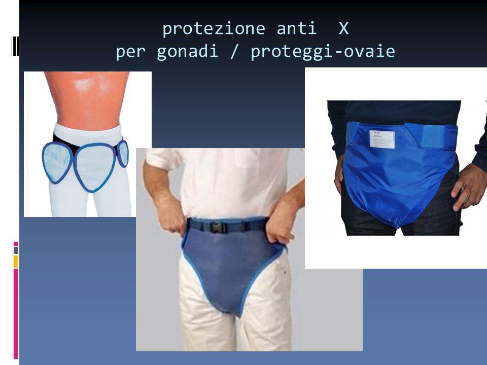 protezione anti X per gonadi / proteggi-ovaie