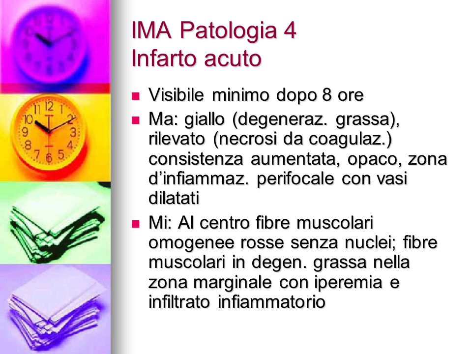 IMA Patologia 4 Infarto acuto