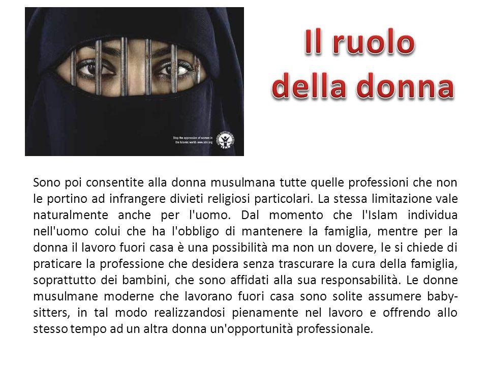 Il ruolo della donna.