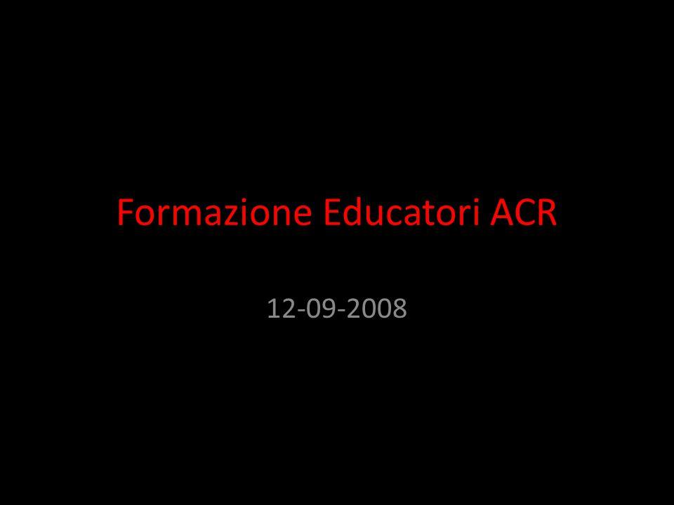 Formazione Educatori ACR