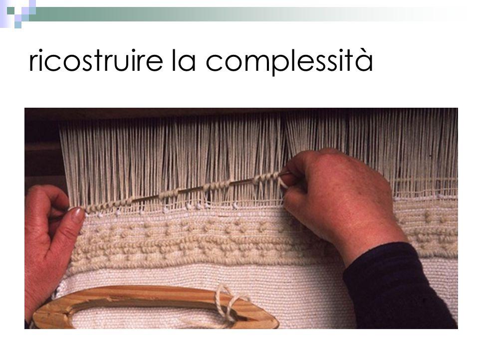 ricostruire la complessità