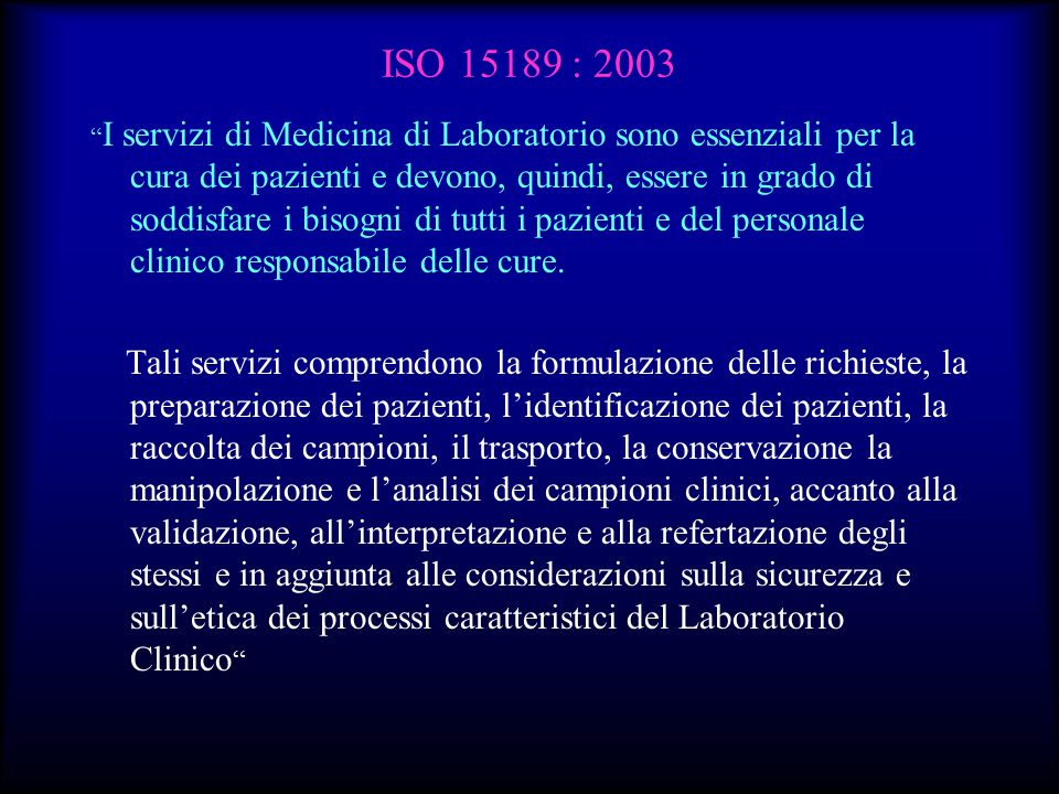 ISO 15189 : 2003