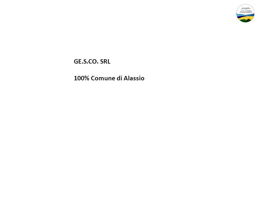 GE.S.CO. SRL 100% Comune di Alassio