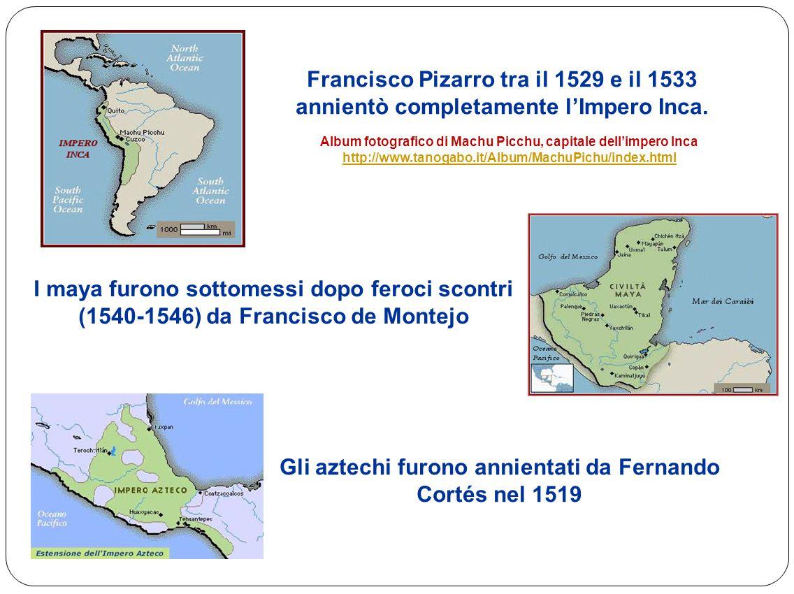 Gli aztechi furono annientati da Fernando Cortés nel 1519