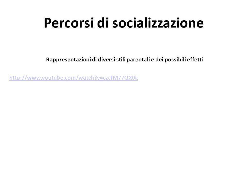 Percorsi di socializzazione