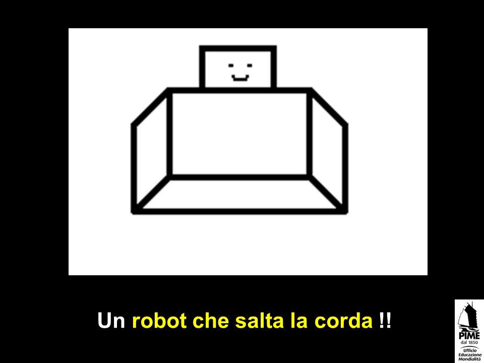 Un robot che salta la corda !!