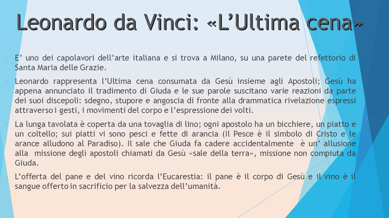 Leonardo da Vinci: «L'Ultima cena»