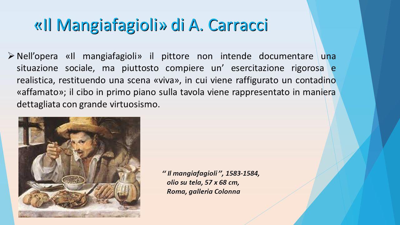 «Il Mangiafagioli» di A. Carracci