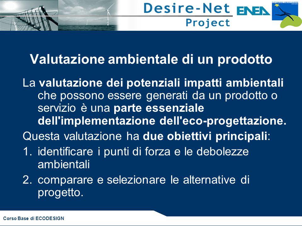Valutazione ambientale di un prodotto