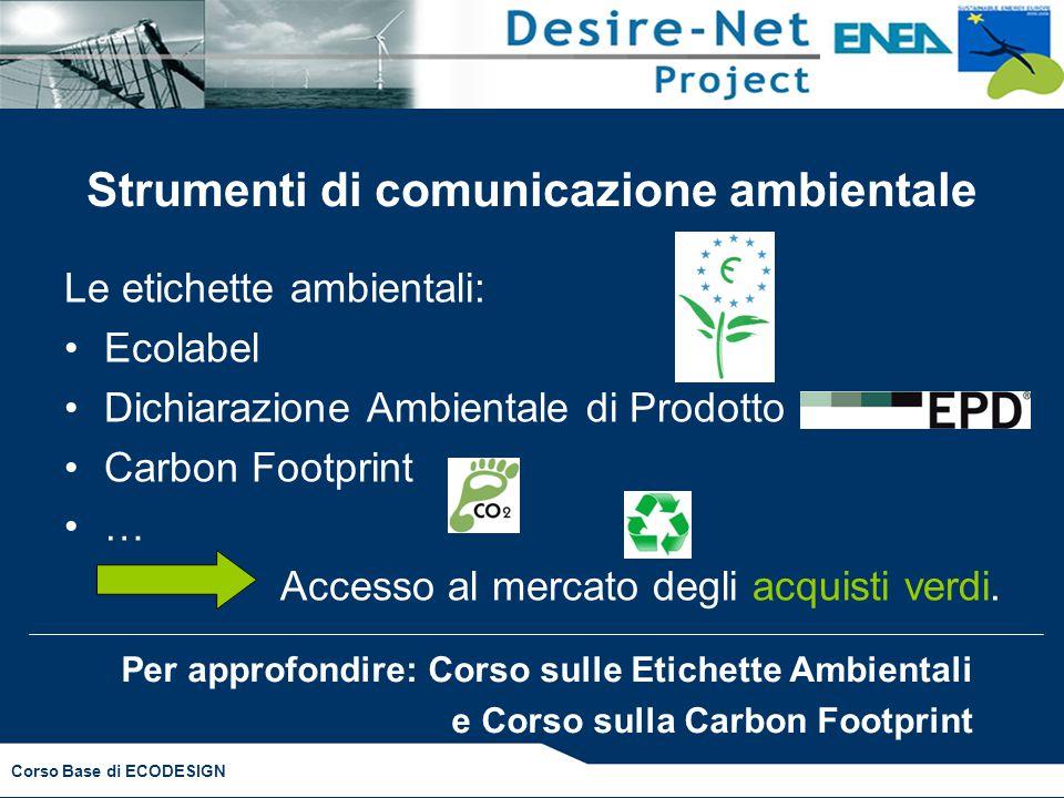 Strumenti di comunicazione ambientale