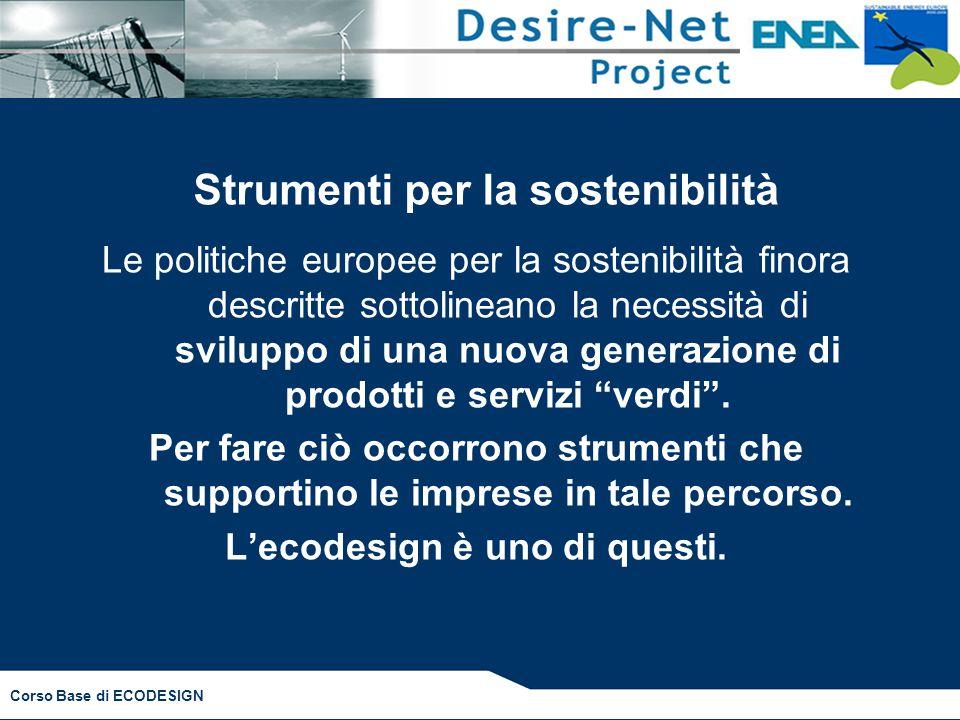 Strumenti per la sostenibilità