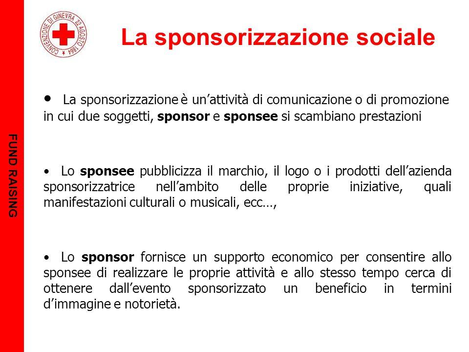 La sponsorizzazione sociale