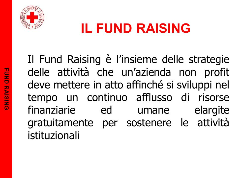 FUND RAISING IL FUND RAISING.