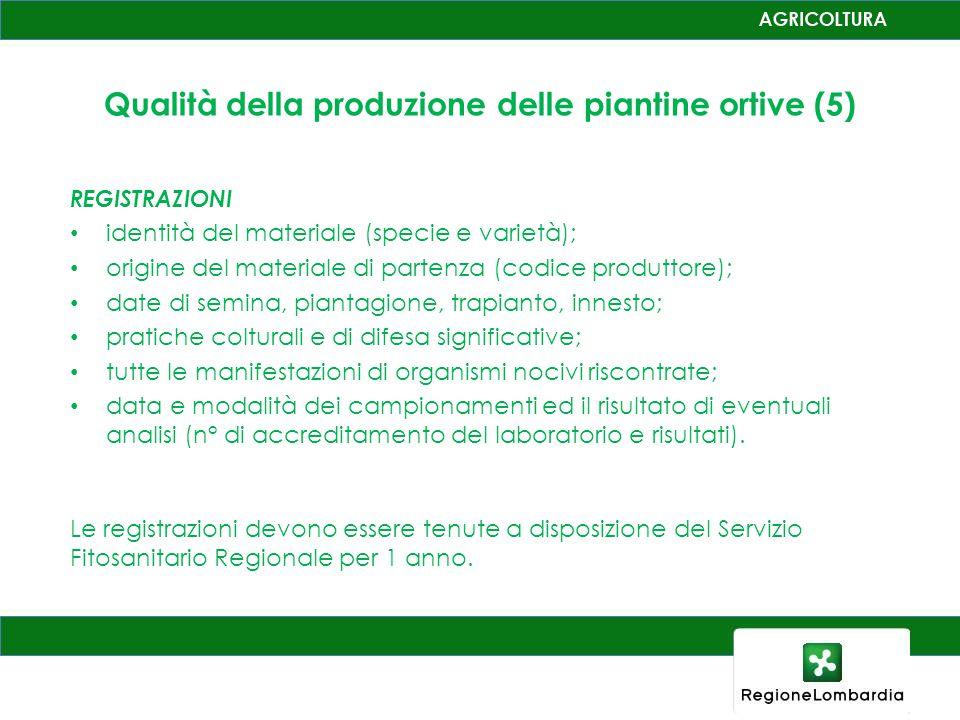 Qualità della produzione delle piantine ortive (5)