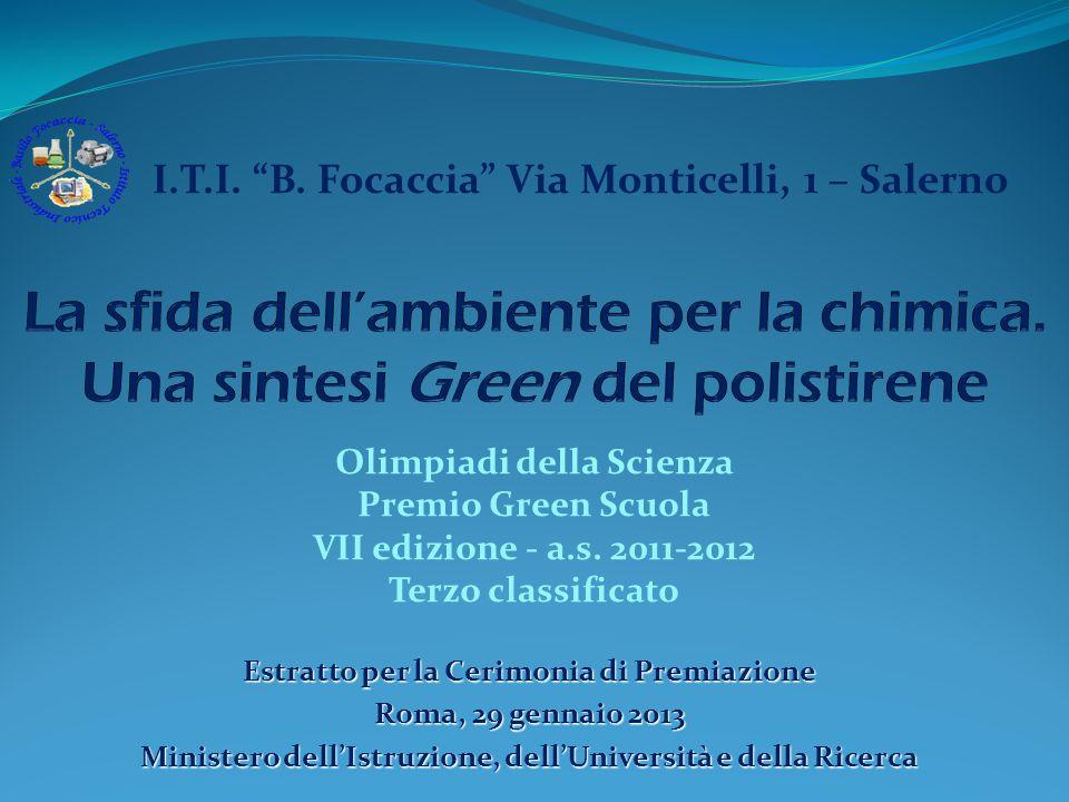 I.T.I. B. Focaccia Via Monticelli, 1 – Salerno