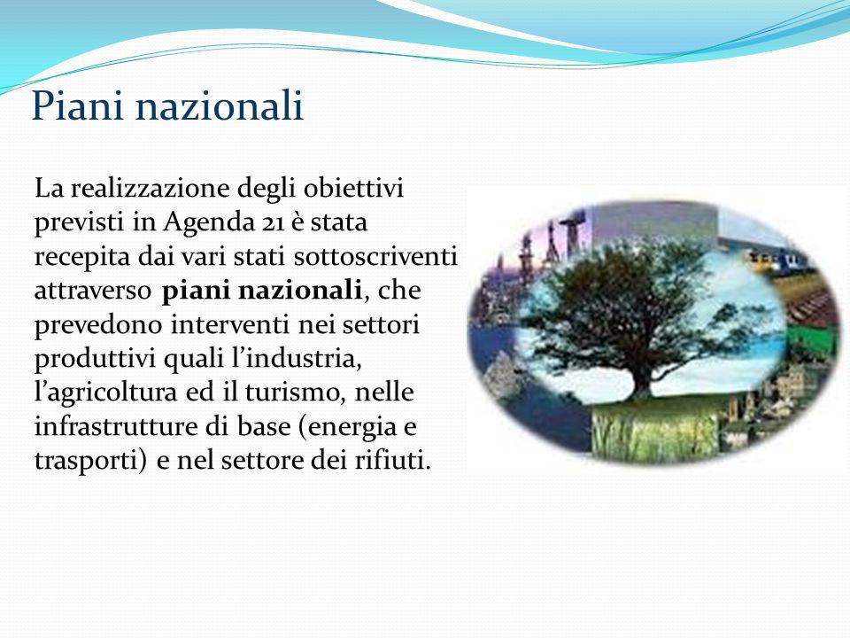 Piani nazionali