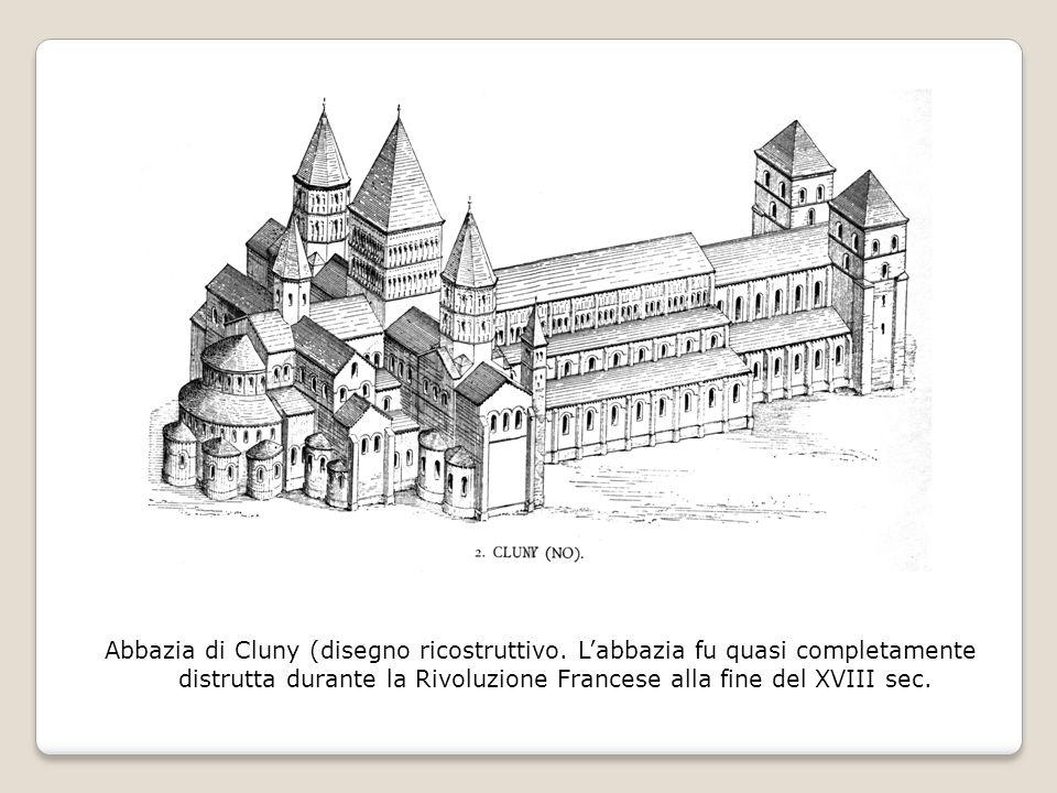 Abbazia di Cluny (disegno ricostruttivo