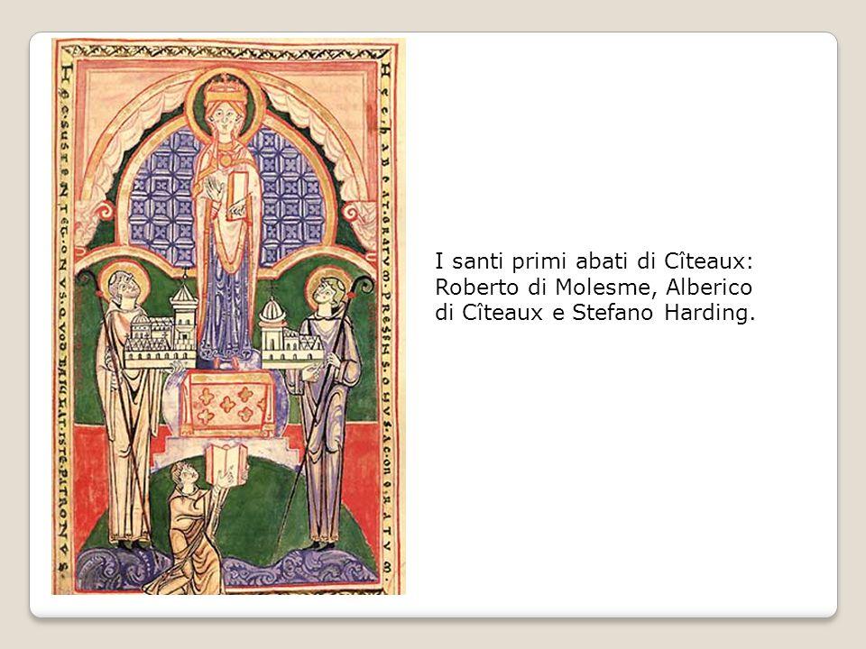 I santi primi abati di Cîteaux: