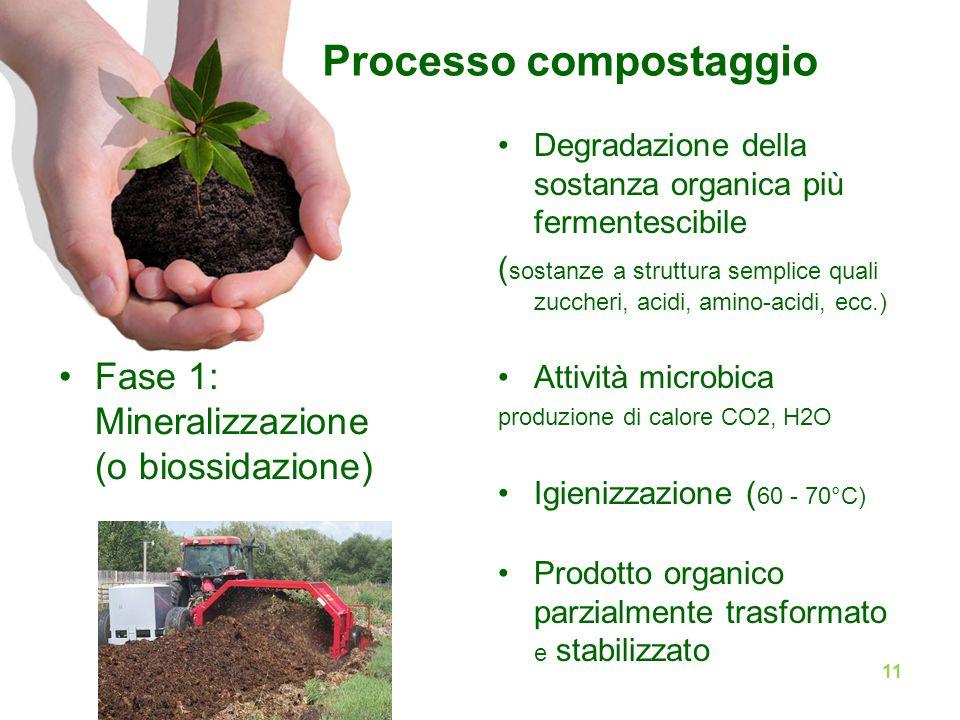 Processo compostaggio